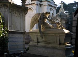 Uno scorcio del Cimitero Monumentale