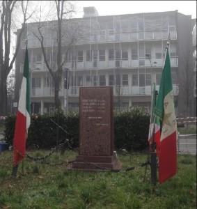 Il monumento di Piazzale Accursio dedicato ai Martiri del poligono