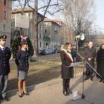 L'intevento dell'assessore alla sicurezza Maria Rozza